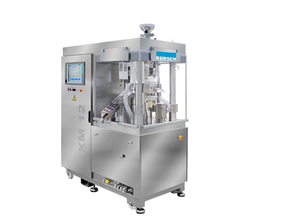 [Translate to Deutsch:] XM 12 Small-Scale 1-/2-Layer Tablet Press closed